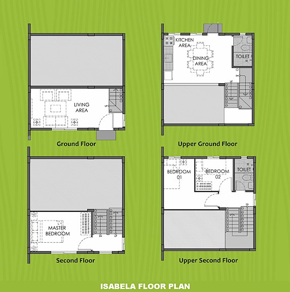 Isabela Floor Plan House and Lot in Subic