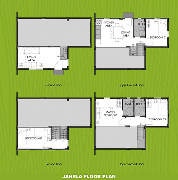 Janela Floor Plan House and Lot in Subic