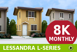 Lessandra Affordable Houses in  Camella Subic